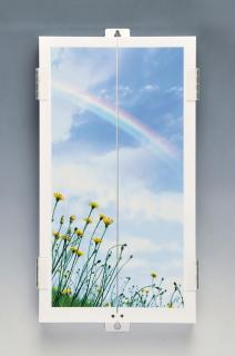 壁掛け仏壇虹